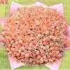 365枝粉玫瑰 365个祝福 实体鲜花店-全国鲜花包送